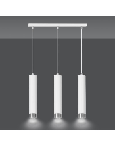 metalowa lampa wisząca...